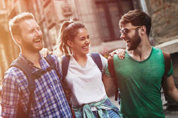 La felicidad de los universitarios