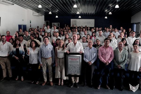 Entrega de reconocimientos a funcionarios de El Marqués