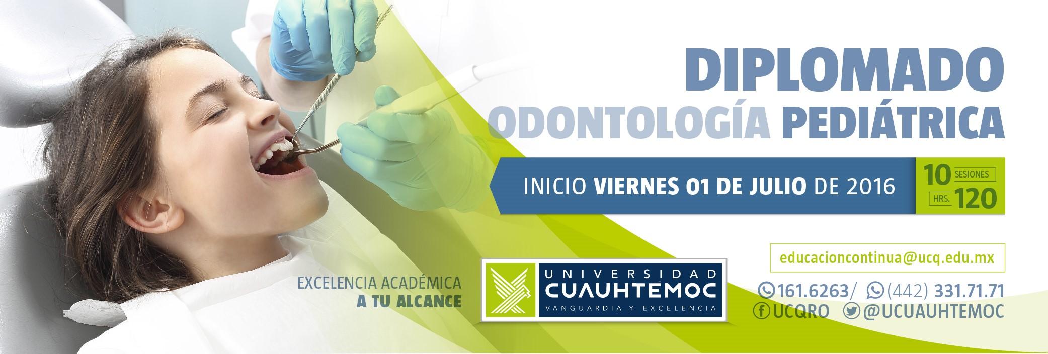 Diplomado Odontologia Pediatrica