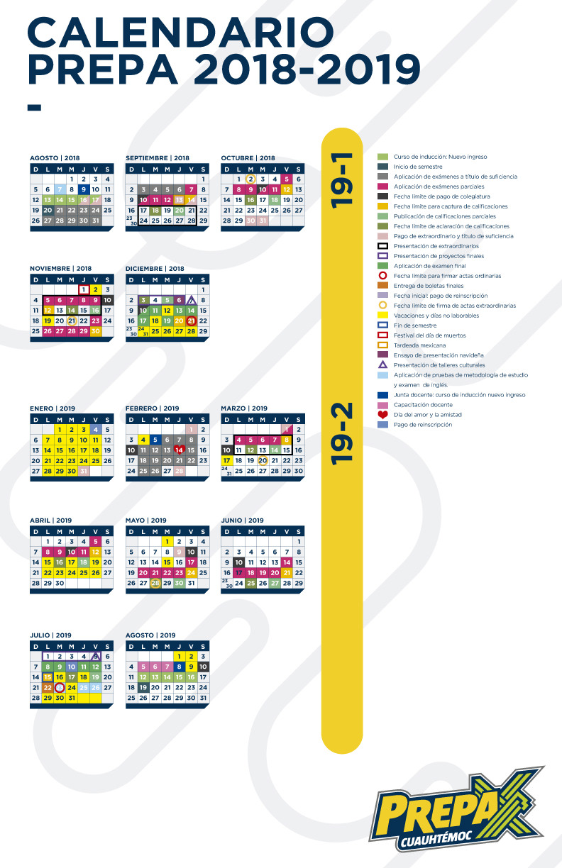 Calendario Prepa